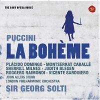 GEORG SOLTI - LA BOHEME-SONY OPERA HOUSE 2 CD 37 TRACKS G. PUCCINI OPERA NEUF