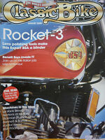 """CLASSIC BIKE"" 08/00 ROCKET 3 - ANTEATER NORTON - RICKMAN TRIUMPH TRIDENT"