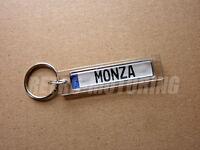 Opel Monza Keyring - German Car Licence Plate Style Auto Keytag / Keyfob