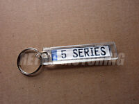 BMW 5 Series Keyring - German Plate Kennzeichen Style Car keytag