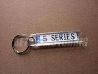 BMW 5 Series Keyring - German Plate Style Car keytag