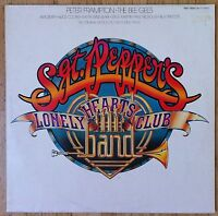THE BEE GEES & PETER FRAMPTON Sgt. Pepper's Lonely Hearts Club Band 2-LP/FOC/CO