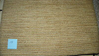 Beige Gold Tweed Print Nylon Upholstery Fabric  1 Yard  F118