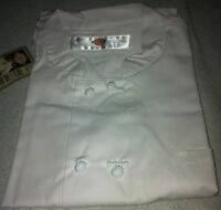 Dickies White Chef Coat Knot cloth Buttons CW070304C White