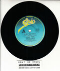 "CHEAP TRICK Don't Be Cruel 7"" 45 rpm record + juke box title strip"