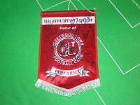 Fleetwood Town FC Pennant Signed x 18 2012/2013 First Team Players