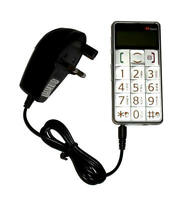 Mains Charger for the TTFone TT002 / TT-002 Big Button Mobile Phone