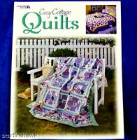 Country Quilt Pattern Book Cozy Cottage Quilts 128p NEW
