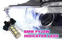 Canbus White PY24W 18 SMD LED Indicator bulbs F10 M3 E92 E93 E70 X5 M3 X6 5200