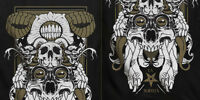 La Muerta - Reliquary T-Shirt (Black) - Skate, Street, Tattoo Clothing