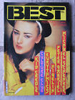 BEST N°184 (nov.83) Eurythmics - Peter Gabriel - Higelin - Culture Club -