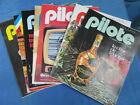 x7 JOURNAL PILOTE - ANNEE 1973/74 : 731 - 732 - 733 - 734 - 754 - 755 - 756