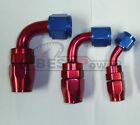 Anysize 3Pcs AN4/AN6/AN8/AN10 Fuel Swivel Hose End/Oil Cooler Adapter Fitting