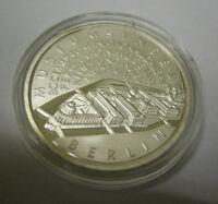 BRD DEUTSCHLAND 10 EURO € MÜNZE MUSEUMSINSEL BERLIN 2002 SILBER PP SPIEGELGLANZ