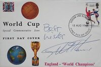 England 1966 World Cup signed FDC cover Geoff Hurst PROOF West Ham United