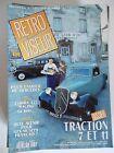 RETROVISEUR n° 37 sept.1991 - TRACTION 7 et 11 - COBRA 427 RACING - MUSEES....