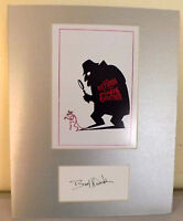 AUTOGRAPH BERT KWOUK , THE RETURN OF THE PINK PANTHER, FILM & TV ACTOR