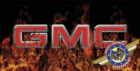 """GMC """"custom personalize License Plate""""-Free Add Text"""
