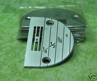 10 pcs SINGER sewing machine NEEDLE PLATE #147150LG #E18