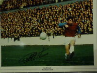 Geoff Hurst Signed West ham Large Photograph