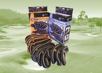 Pro Tekt Neoprene Golf Club Iron Protectors, Zip Closing Covers, 9 Piece set