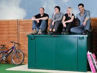 Bike Shed/ Cycle Shed/ 4 Bike Storage/ Asgard Secure Bike Sheds