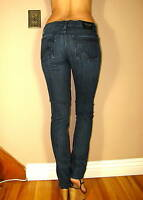 $250+ Rock&Republic Skinny Berlin Hades Dark Blue Crystal R Pocket Jeans 28 NWT
