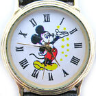 Rare! VINTAGE DISNEY MICKEY MOUSE Mens Womens Unisex Wristwatch WATCH Collectors