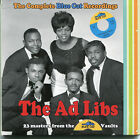 cd - the ad libs - the complete blue cat recordings