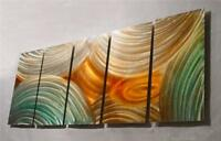 Metal Wall Art painting Artwork abstract 2000-Now, Artist, Large Original Signed