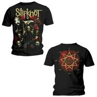Official SLIPKNOT Come Play Dying T-shirt Black/2-sided Sizes S to XXL