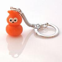 zingy flame mascot keyring cute handmade  EDF blob SALE free postage