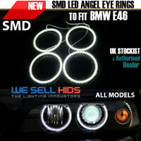 SMD ANGEL EYES FOR BMW E46 NONE - PROJECTOR  REFLECTOR KIT HALO RINGS 2 door