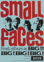 Small Faces Poster. Mod, 60er Pop, Psychedelia