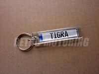 Opel / Vauxhall Tigra Keyring - German Car Licence Plate Style Auto Keytag