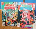 LOT /2 BATMAN and the OUTSIDERS 1983 NO 2 & 4 DC COMICS