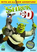 SHREK PART 1 IN 3D DVD Brand New With 2 Pairs of 3D Glasses 1st First Movie Film