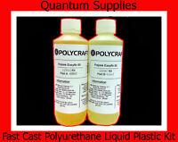 EasyFlo 60 - 120ml Fast Cast Polyurethane Liquid Plastic Kit