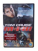 MISSION IMPOSSIBLE PART 3 DVD MI-3 / MI-III MI3 Brand New Sealed Tom Cruise