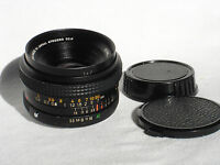 KONICA HEXAR AR 28mm f3.5 wide angle lens with caps