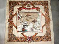 "Arty's PASSION Seidentuch Halstuch handbemalt 100% Seide 90x90cm ""Silk Road"".193"