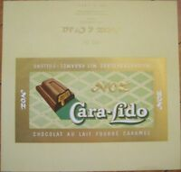 1940's French, Caramel, Chocolate Bar Label - Noz & Co.