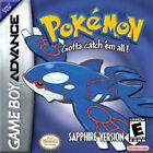 Pokemon: Sapphire Version (Nintendo Game Boy Advance, 2003) - European Version