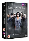 Being Human - Series 1-4 - Complete (DVD, 2012, 11-Disc Set, Box Set)