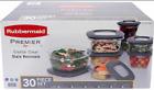 Rubbermaid Premier Food Storage Set - 30 pc. BPA FREE (Choose Color)
