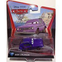 DISNEY PIXAR CARS 2 DON CRUMLIN #31 *NEW*