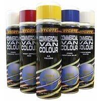 AA Yellow Commercial Van Colour Paint 300ml Aerosol