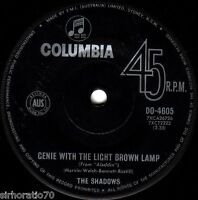 The SHADOWS Genie With The Light Brown Lamp / Little Princess  45