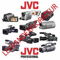 Ultimate JVC Camcorder Repair Service Manuals & Schematics  370 PDF manual s DVD