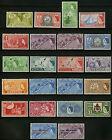 Bermuda 1953-58 Scott #143-162, 164-165 MLH Set